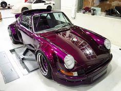 PictOfTheDay: Purple 1975 Porsche 911 Targa by RWB | automotive99.com