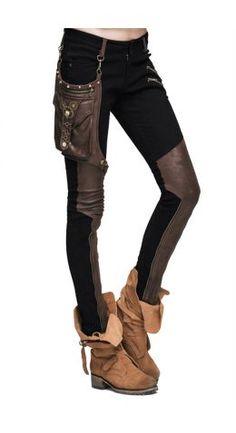 Devil Fashion Steampunk Amanita Trousers