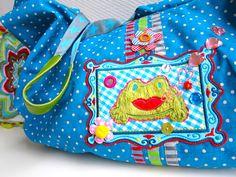"""As"" draped bag [Falten-Tasche]  #farbenmix #taschenspieler...liegt bei mir schon zum bearbeiten auf dem tisch*freu*"