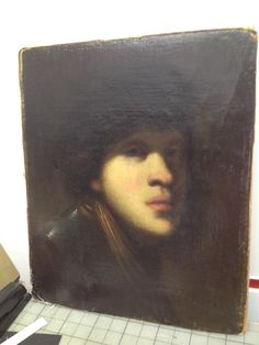 Rembrandt young but different than Rembrandt painting, brooding and intense Rembrandt Self Portrait, Rembrandt Paintings, Our Legacy, Oil On Canvas, Mona Lisa, Mystery, Old Things, Artwork, Work Of Art