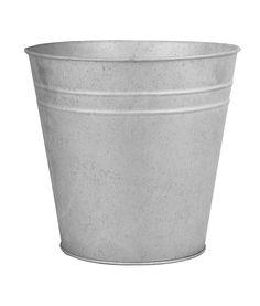 Esschert Design Zinc Flower Pot, X-Large Concrete Planter Boxes, Corten Steel Planters, Plastic Planter Boxes, Barrel Planter, Fiberglass Planters, Window Planter Boxes, Wooden Planters, Plastic Pots, Ceramic Planters