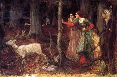 The Mystic Wood John William Waterhouse