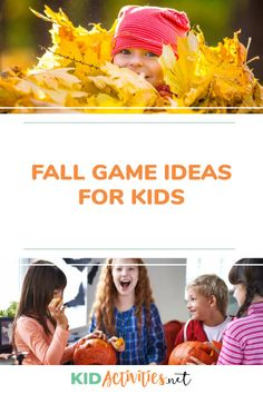 Fall Activities and Games for Kids (Pumpkin Games) Kid Activities Here is a list of fun fall activities and games for kids including some of the best pumpkin games. The kids are back in school, the leaves are turning color Icebreaker Activities, Autumn Activities For Kids, Activities For Adults, Games For Teens, Fall Crafts For Kids, Pumpkin Games, Thanksgiving Preschool, Thanksgiving Games, Fall Games