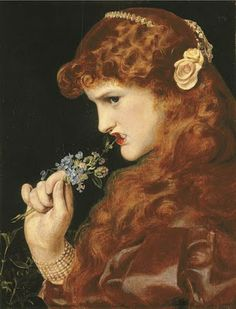 Love's Shadow by Frederick Sandys