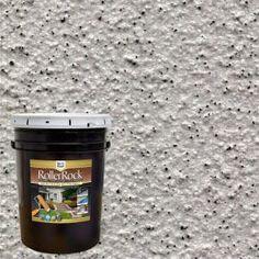 Royal Pearl Decorative Flat Interior/Exterior Concrete Floor Coating - 65005 - The Home Depot Exterior Concrete Paint, Concrete Porch, Concrete Bricks, Concrete Floors, Painting Concrete Walls, Concrete Steps, Concrete Floor Coatings, Concrete Resurfacing, Flat Interior