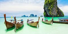Thailand Travel: Thailand - a name of beauty. Popular place in Thailand: Railay Beach – Krabi, Phra Nang Beach, Kata Beach – Phuket, Jim Thompson House, Thailand Vacation, Thailand Travel, Asia Travel, Bangkok, Kamala Beach, Photo 3d, Image Nature, Nature Nature, Awesome