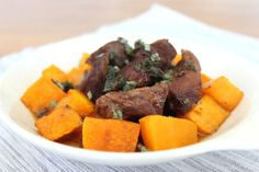 Spiced Pork and Butternut Squash with Sage is the perfect meal for a chilly day, not only because it's hearty and comforting but also because the blend of autumnal spices warms the belly. Nutmeg, cinnamon, allspice and ginger aren't just for pumpkin pie. This blend of spices also makes a delicious spice rub for pork. […]