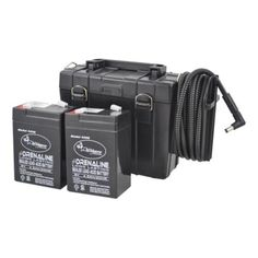 Wildgame Innovations External Battery Pack 6volts - http://www.huntingfishingstuff.com/wildgame-innovations-external-battery-pack-6volts/