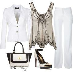 Summer Suit, created by keri-cruz on Polyvore