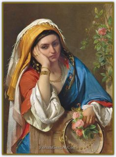 Reverie by Jean Francois Portaels Handmade oil painting reproduction on canvas for sale,We can offer Framed art,Wall Art,Gallery Wrap and Stretched Canvas,Choose from multiple sizes and frames at discount price. European Paintings, Oil Painting Reproductions, Art Abstrait, Oil Painting On Canvas, Female Art, Vintage Art, Art History, Framed Art, Wall Art