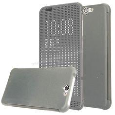 HTC One A9 Dot view Akıllı Kılıf Gri -  - Price : TL28.90. Buy now at http://www.teleplus.com.tr/index.php/htc-one-a9-dot-view-akilli-kilif-gri.html