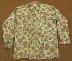 WWII USMC Paramarine HBT shirt