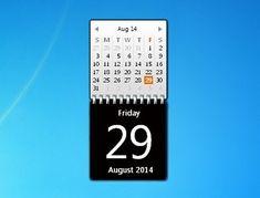 Gadget Calendario.Calendar Gadgets Win7 Gadgets