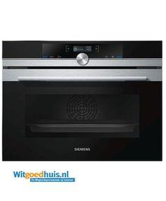 Siemens CB675GBS1 iQ700  Description: Siemens CB675GBS1 iQ700 inbouw oven - Energieklasse: A - Inhoud oven: 47 liter  Price: 969.00  Meer informatie  #witgoedhuis
