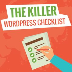 Most Exhaustive WordPress Checklist PDF Online. 101+ Easy Steps to Follow while launching your WordPress Website.