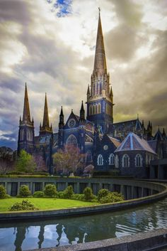 St. Patricks Cathedral Church Melbourne Photo by Echyballs on Getty Images..... #Relax more with healing sounds: