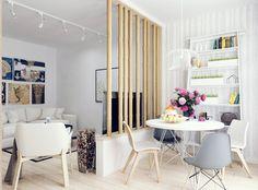 Дизайн интерьера гостиной-кухни по Змеиногорскому тракту в г. Барнауле. Квартира-студия
