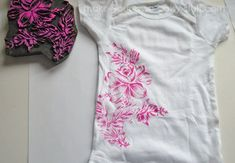 block printing crafts for baby