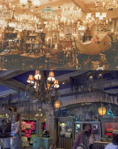 Angry AP - Disneyland and Walt Disney World nostalgia: Then and Now: New Orleans Square's One-of-a-Kind Shop