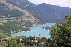 Monti Sibillini - lago di Fiastra