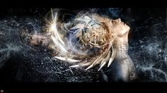 gaia -radeon by optiknerve-gr on DeviantArt Virtual Art, Spiritual Art, Fantasy Art, Gaia, Deviantart, Photoshop, Art, Abstract, Art Portfolio