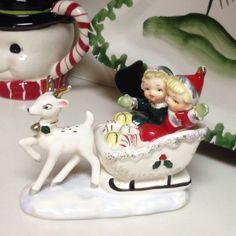 Vintage Christmas figurine. ☆ヴィンテージ・クリスマス飾り