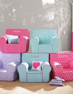 fun personalized chairs for your little girl http://rstyle.me/n/vc26rr9te