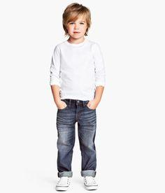 Toddler Boy long haircut