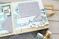 Всем привет, привет!     Сегодня спешу поделится целой кучей новостей и информацией про один альбом! А именно про тот, который я создала д... Baby Scrapbook, Scrapbook Albums, Baby Album, Mini Photo, My Little Baby, Book Making, Mini Books, Scrapbooks, Diy And Crafts