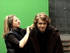 Hayden getting his hair down, omg his face though!!!