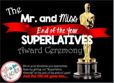 """The following product contains """"End of the Year Awards"""" that any teacher can use in his/her class. These awards have a unique twist to them, they are gender based superlatives!The teacher can have students vote on the different superlatives as a class and have an """"End of the Year Award Ceremony!"""" If you like this product, you would LOVE these products in my store:Figurative Language Handouts Grades 6-12 ELA Click here*Teaching """"The Flowers"""" by Alice Walker - PARCC Aligned Questions and the…"""