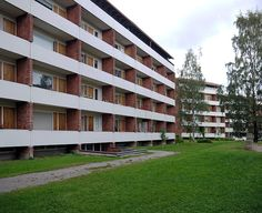 a+t - Alvar Aalto. Viviendas Riihitie. Helsinki, 1952-1954