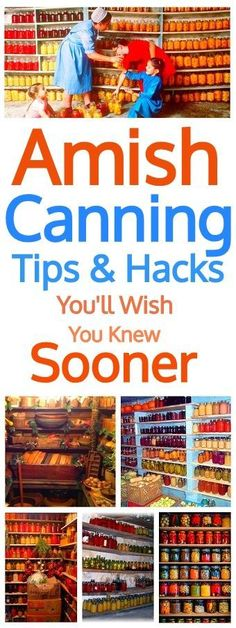 Amish Canning Tips You'll Wish You Knew Sooner #canning #amish #homemade #pantry