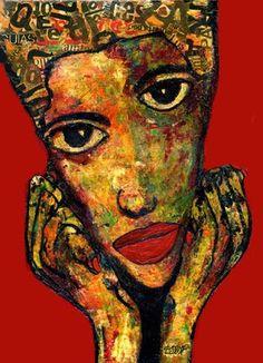 7- RETRATOS Expresionistas. Juventud.