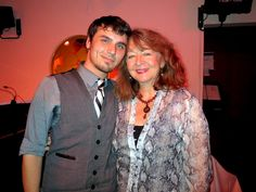 "Composer Gregory Nabours of ""Steamtowne,"" a post-apocalyptic Moulin Rouge with Linda Shusett of the Festival of New American Musicals at ASCAP New Songwriters Showcase 2012"