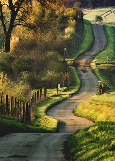 Road -Moravia, Czech Republic // by Peter Perepechenko