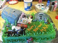 Garbage Themed Cake! 7 year old