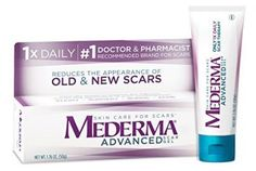Mederma® Advanced Scar Gel is the only per day formulated scar care product clinically shown to reduce the appearance of scars old and new. Clinically shown to improve the overall appeareance, color and texture of scars. Scar Cream, Scar Removal Cream, Acne Scar Removal, Hair Removal, Facial Scars, Acne Scars, Advanced Skin Care, Scar Treatment, Stretch Marks