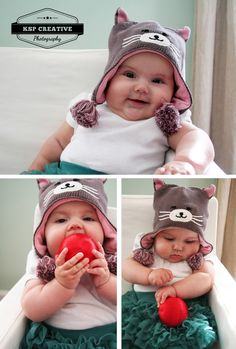 family photography, baby, babies, props, holiday, hat, ornament