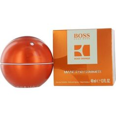 Boss In Motion Orange Made For Summer By Hugo Boss Edt Spray 1.3 Oz