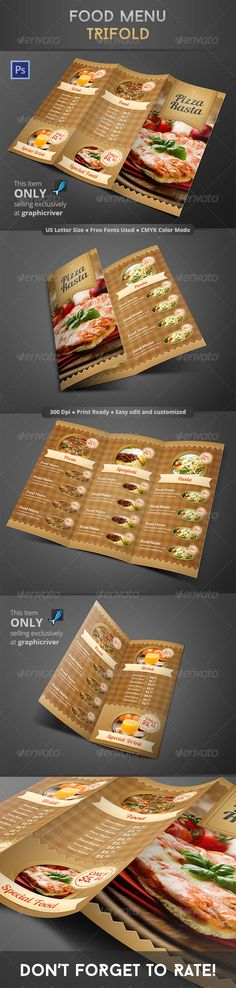 City Cafe Menu Template PSD Best Food Menu Templates Pinterest - sample cafe menu template