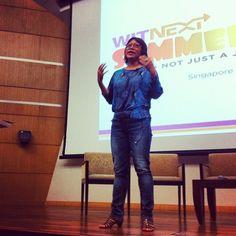 Siew Hoon kicks off WITNext Summercamp #WITnext #traveljobcamp #Webintravel #travel #SMU #Singapore #university - @webintravel- #webstagram