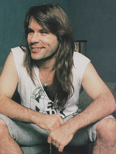 """""""Bruce Dickinson and Steve Harris of Iron Maiden """" Bruce Dickinson, Rock And Roll Bands, Rock N Roll, Beatles, Iron Maiden Posters, Iron Maiden Band, Rock And Roll Fantasy, Judas Priest, Famous Singers"""