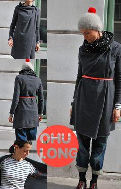 kleinformat — kleinformat-kreativ Ohu Jacke/ jacket SCHNITT/ pattern