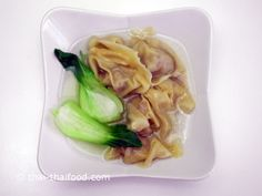 ใส่น้ำซุป Pork Soup, Meat, Chicken, Food, Asian Soup, Essen, Meals, Yemek, Eten