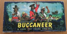 Buccaneer Vintage Board Game 1958 by Waddingtons | eBay