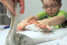 Piaskowy glutek, przepis jak zrobić slime z piaskiem