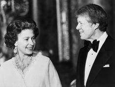 Queen Elizabeth and President Carter