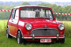 Mini Mk 1.  If I ever get a small car it has to be something like this.