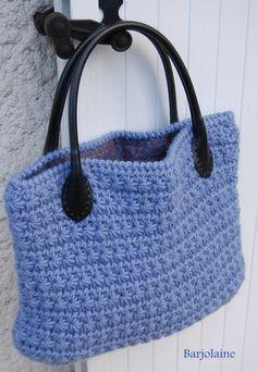 barjolaine star stitch tote (no pattern)